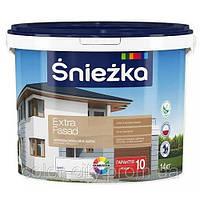 Акриловая фасадная краска Sniezka Extra Fasad 20кг