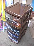 Пластиковый детский комод авто 4, фото 4