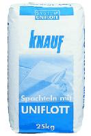 Шпаклевка гипсовая Uniflot (Унифлот) KNAUF (Кнауф) для заделки швов гипсокартона 25 кг