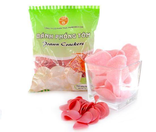 Крекери зі смаком креветки рожеві, 1 кг