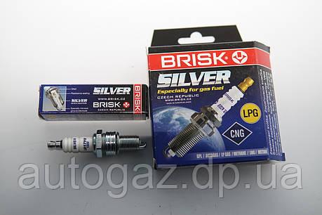 Свечи LR17YS Silver дв 406 8кл. под ГБО (шт.), фото 2