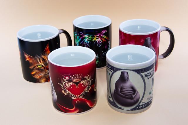 Чашки хамелеоны Эксклюзив