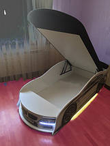 Кроватка машина БМВ space круиз Mebelkon, фото 3