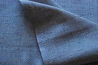Ткань для вышивания ТВШ-27 синяя, крупная