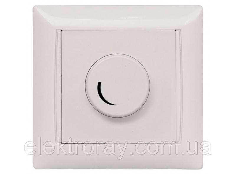 Диммер, светорегулятор поворотный Luxel Primera белый