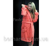Женский махровый халат: 48-50 р-р