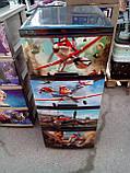 """Комод на 4 ящика с декором """"самолетики""""  Алеана, фото 2"""