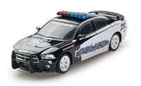 Автомодель DODGE CHARGER POLICE 2014 черный,1:26, свет, звук, инерционная GearMaxx (89731)