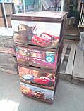 """Комод на 4 ящика с декором """"Тачки""""  Алеана, фото 2"""