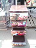 """Комод на 4 ящика с декором """"Тачки""""  Алеана, фото 3"""