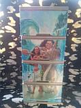 """Комод на 4 ящика с декором """"моана""""  Алеана, фото 2"""