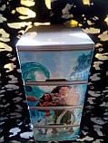 """Комод на 4 ящика с декором """"моана""""  Алеана, фото 3"""