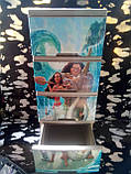 """Комод на 4 ящика с декором """"моана""""  Алеана, фото 4"""