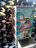 """Комод на 4 ящика с декором """"моана""""  Алеана, фото 5"""