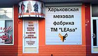 Октрытие магазина Харьковской меховой фабрики