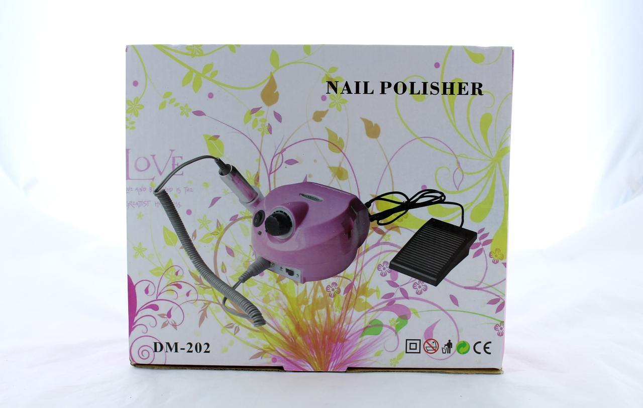 Машинка для педикюра Beauty nail 202 (00028) (12) в уп. 12шт.