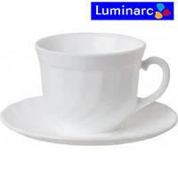 Набор чашек 160мл с блюдцами 6шт Trianon Luminarc