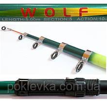 Удилище Wolf Bolo 6 м 10-30 г