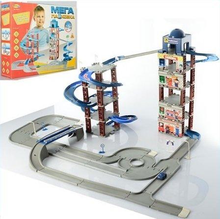 Парковка детская 6 этажей Гараж 922-5 Metr+