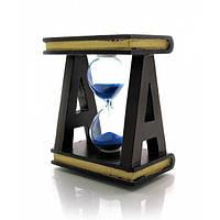 "Часы песочные ""Книги"" (9,5х8х5 см)"