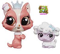 Литл Пет Шоп зверюшки Боня и Пуфбол lsp лсп Littlest Pet Shop Bonnie Barkington & Puffball Petrovsky