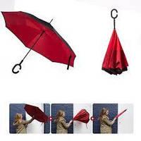 Уникальный зонт-трость обратного сложения ReUmbrella Новинка!