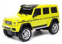 Автомодель MERCEDES-BENZ G500 в ассорт. желтый, серебристый,1:26, свет, звук инерционная GearMaxx (89801)
