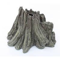 Декорация Aquael Volcano для аквариума, полиэфирная резина, 15х12х11 см