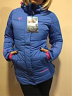 Женский горнолыжный костюм Avecs Нежно Фиалковый