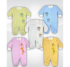 Человечек для новорожденных с рисунком Пчелка УТ