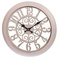 Классические часы 36 см диаметр (пластик)