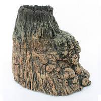 Декорация Aquael Volcano для аквариума, полиэфирная резина, 19х14.5х15.5 см