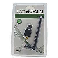 USB WiFi адаптер с антенной 150 Мб/с