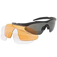 Очки 5.11 Aileron Shield защитные, цвет матово-черный