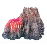Декорация Aquael Volcano для аквариума, полиэфирная резина, 26х23х17 см
