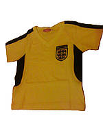 Футболка желтая с черными вставками