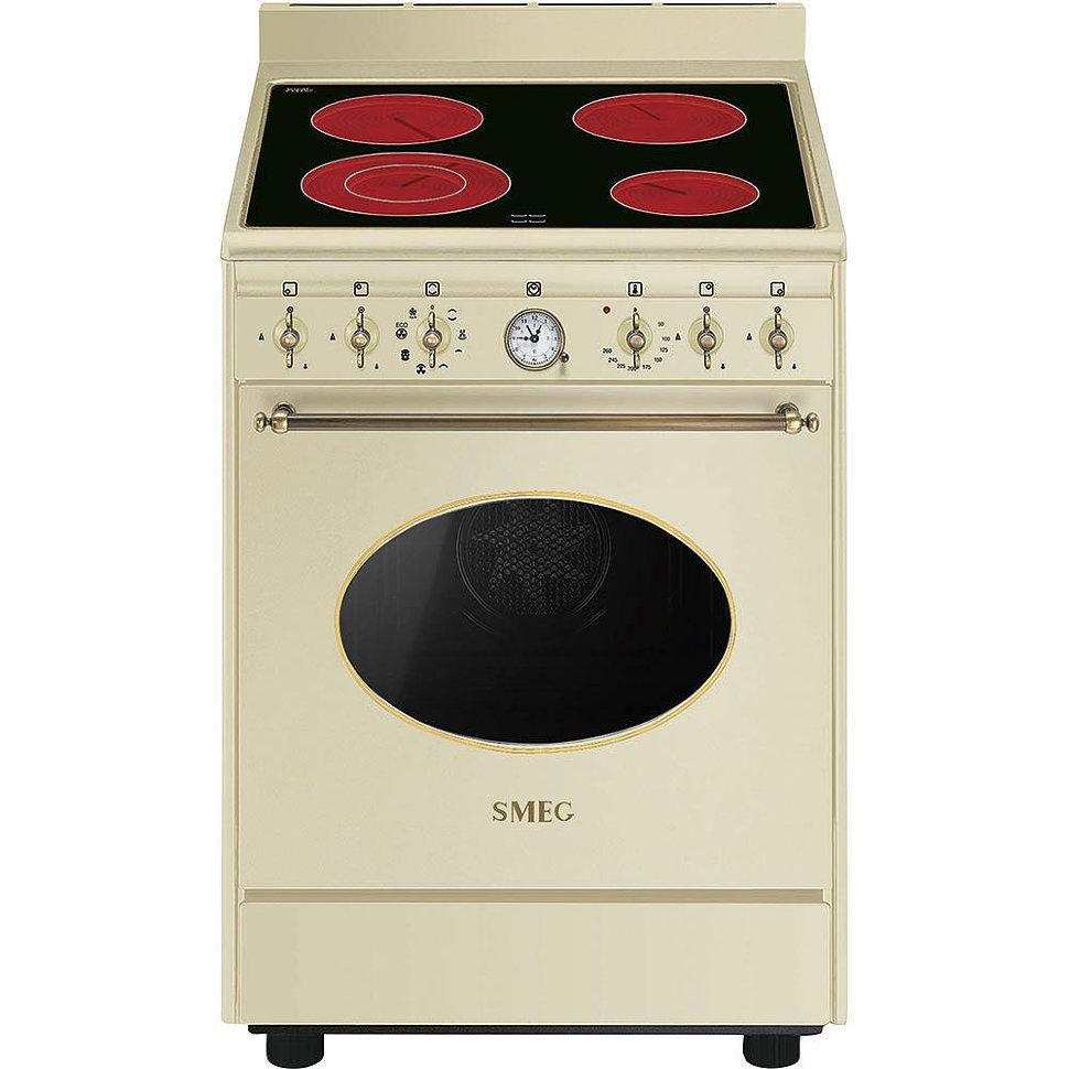 Отдельно стоящая варочная плита Smeg CO68CMP9 кремовый