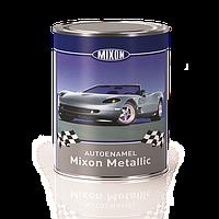 Эмаль для авто металлик Mixon Metallic. Сильвер. 1 л, фото 1