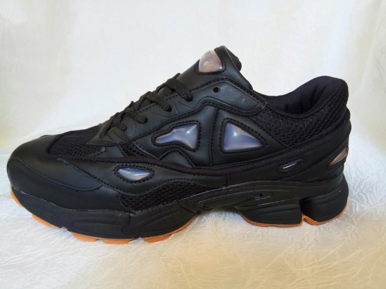 ab04d170 Adidas Raf Simons Ozweego 2 мужские кроссовки черные - Интернет магазин  krossovkiweb.kiev.ua