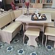 Кухонный уголок с раскладным столом Лорд, фото 4