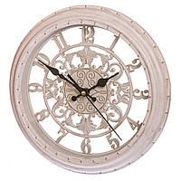 Классические часы 28 см диаметр (пластик)