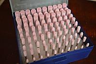 Набор шарошек для гравера 100 шт (Красные)