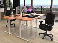 501-43 7(S, W, B) 129: Компьютерный стол с регулировкой высоты (новая модель с высокой грузоподъемностью)