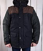 Зимняя парка куртка мужская длинная GLO - STORY (реплика)