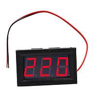 """Вольтметр AC 70 - 500 В 0.56 """" красный светодиодный, фото 1"""
