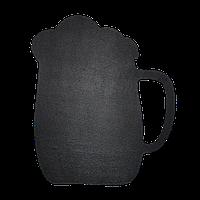 Доска меловая фигурная Бокал ПХ 390х470 мм