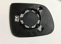 Вкладыш зеркала левый с подогревом Audi Q5 (09-) Q7 (10-) OE:8R0857535E
