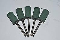 Резиновая полировальная насадка 20*10*3 (зелёная) finish