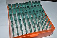 Набор вулканитовых насадок 100 шт зеленые FINISH