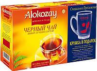 Чай Алокозай черный 100 пак. + Чашка